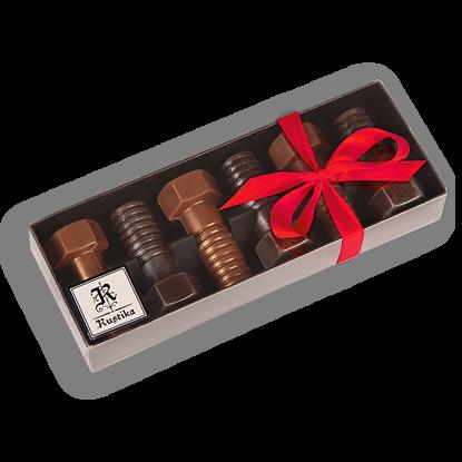 Slika Set čokoladnih vijakov