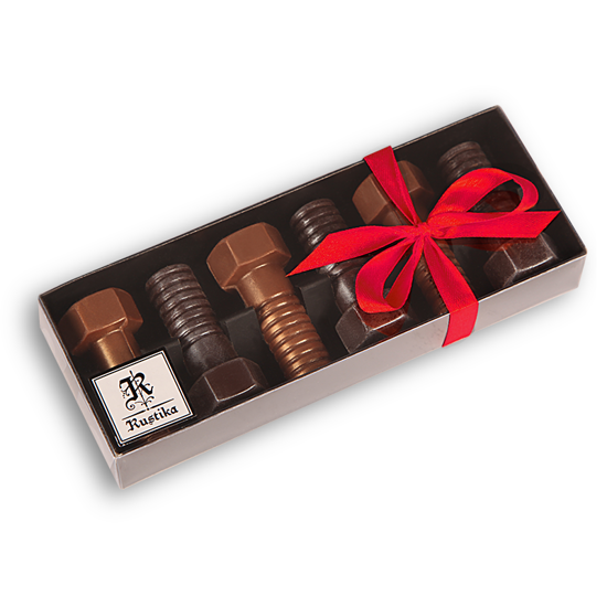 Set čokoladnih vijakov