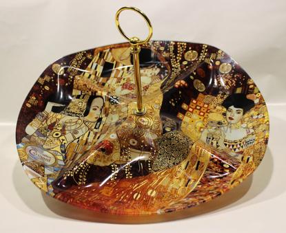 Slika GUSTAV KLIMT - steklen  pladen za piškote