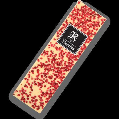 Slika Bela čokolada z malinami