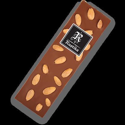 Slika Mlečna čokolada z mandlji