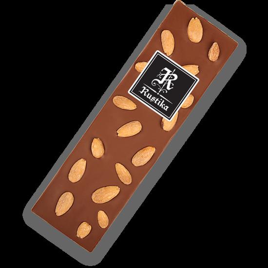 Mlečna čokolada z mandlji