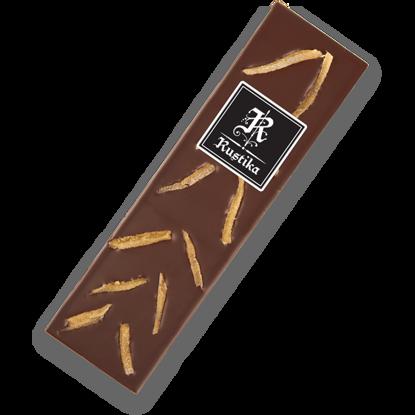 Slika Temna čokolada s kandiranim ingverjem