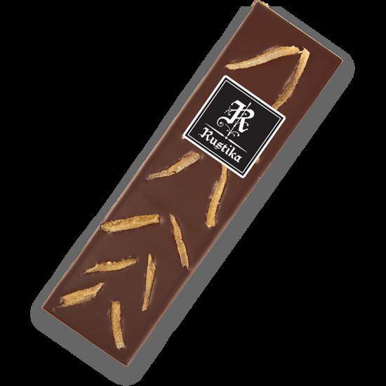 Temna čokolada s kandiranim ingverjem