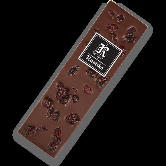 Temna čokolada z brusnicami