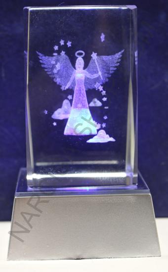 LED ANGEL V STEKLENI KOCKI 1