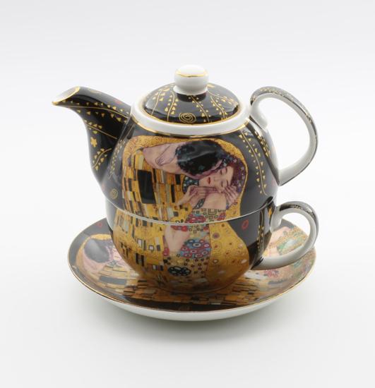GUSTAV KLIMT - čajnik s skodelico