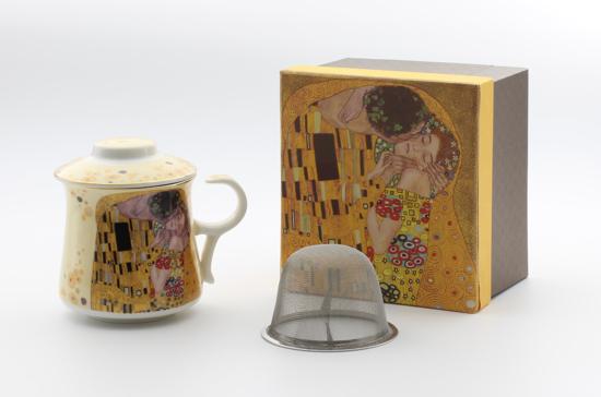 GUSTAV KLIMT - skodelica čaj svetla