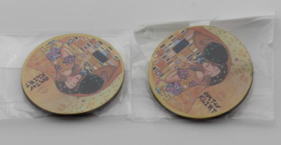 GUSTAV KLIMT - magnetki za hladilnik okrogli
