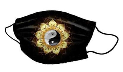 Slika Pralna obrazna maska Ying Yang