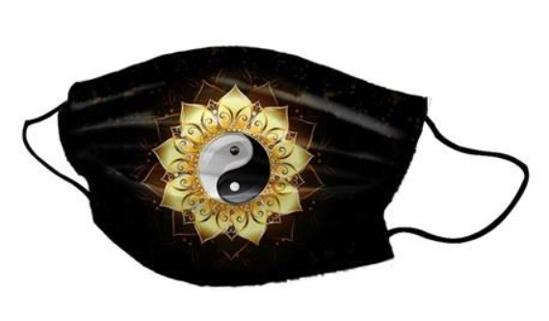 Bild von Pralna obrazna maska Ying Yang