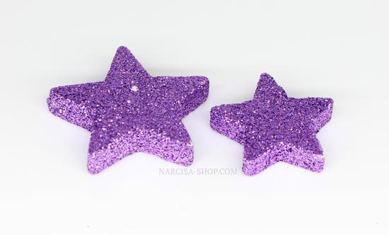 Barvne zvezdice 4cm