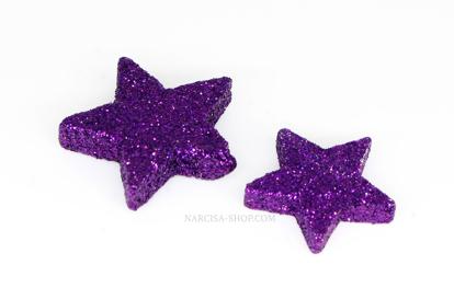 Slika Barvne zvezdice 5cm