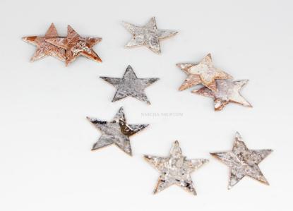Slika Lesene zvezdice 4cm
