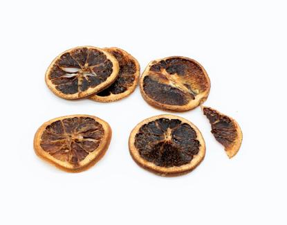 Bild von Getrocknete Orangen