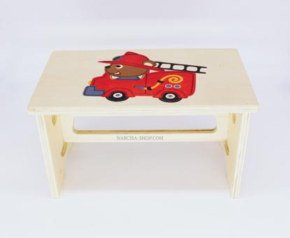 Slika Lesene pručke za otroke