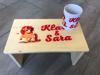 Bild von  Holzstuhl für die Kinder