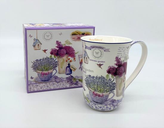 Bild von  KÖNIGIN ISABELL - Lavendel - Tasse