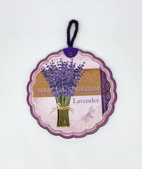 Bild von KÖNIGIN ISABELL Lavendel Wanddekoration