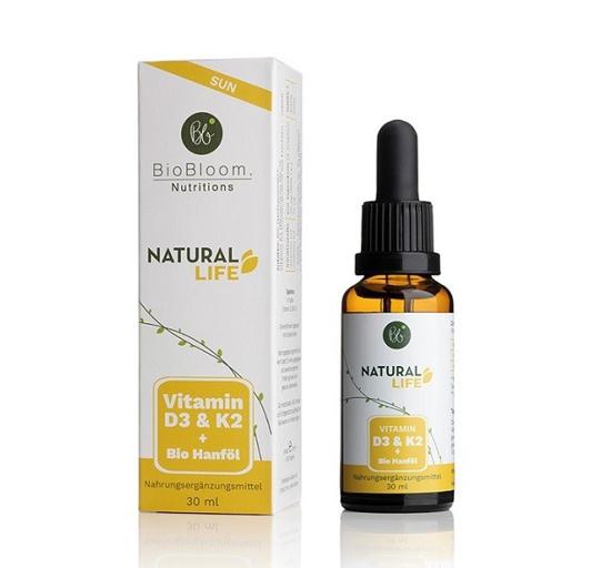 Bild von Vitamin D3 - Natural SUN - Vitamin D3 und K2 Tropfen, 30 ml